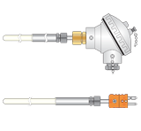 Type R Thermocouples for Vaccum use