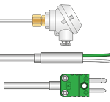 Type K Thermocouples with Mineral Insulation